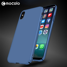 Mocolo Hot Sale Anti Gravity Phone Cover Hard PC For Iphone X Mobile Case