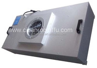 Industrial clean room ffu fan filter box motor powered hepa unit
