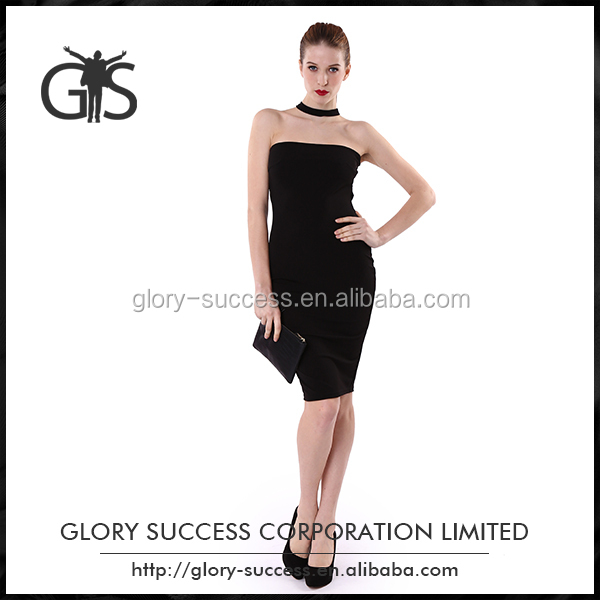 Wholesale customized size pullover women sexy evening dress
