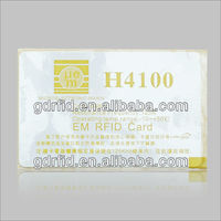 Cheap plastic gift card printing, lottery scratch card printing, greeting card printin125KHz/13.56MHz/915MHz blank bus rfid card