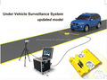 Under car inspection system, under vehicle, hidden checking, surveillance