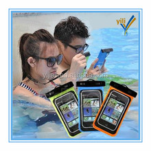 phone waterproof case/cell phone waterproof dry bag/floating waterproof phone bag
