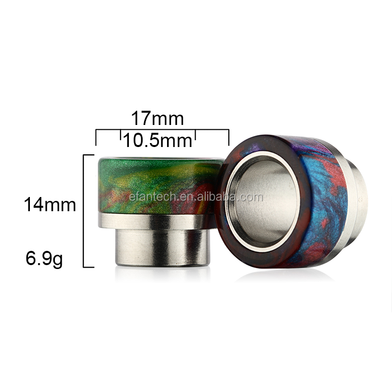 Efan Factory Price New Resin Drip Tip For Goon 528 AV Kennydy RDA Atomizer Resin