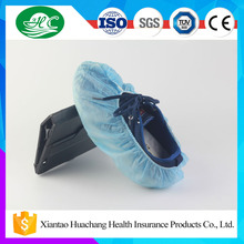 Factory Supply Surgical Disposable Non Woven Shoe Cover with Anti Slip