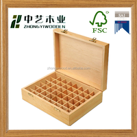 FSC&SA8000 customized handmade top grade latest design decorative wooden essential oil packing box