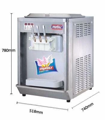 BQL-808 Gongly máquina gelato Italiano pequeno top de boa qualidade máquina de sorvete