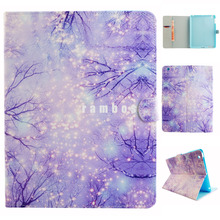 Cartoon Pattern Customizable Tablet Cases Protective Flip Tablet Cover Case for iPad 2 3 4 5 6 for Galaxy Tab A 8.0 T350/T355C