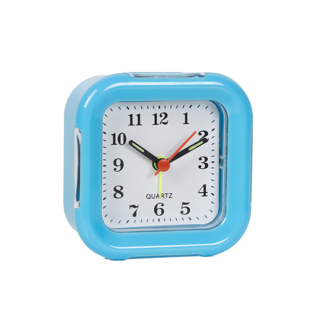 Cute plastic clock face cover alarm clock manufacturer smart alarm clock