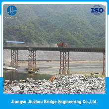 Factory direct sale Q345B steel good quality temporary steel bailey bridge