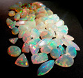 #HAM Top Quality Natural Cut Stone Multi Shape Ethiopian Opal