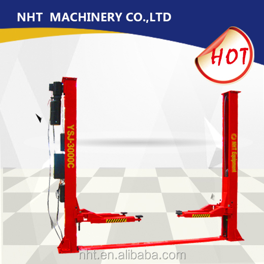 NHT two post car lift hydraulic lift machine with 4tons