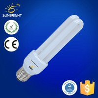 B22 2U T4 26W energy saving fluorescent light 6400K (wholesale alibaba)bulb lamp