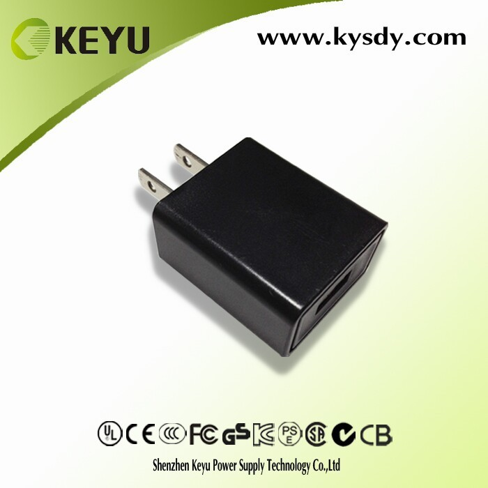 for mobile phones 5v 1a 5v 500ma ul usb wall charger