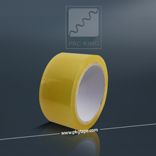 Self adhesive and yellowish bopp tape