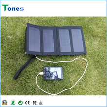 Portable soloar charger panel 7w 5V1400mA solar charger bag OEM solar bag charger solar bag for laptop power bank for iphone