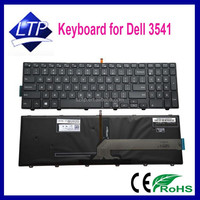Wholesale keyboard for Dell inspiron 15-3000 17-5000 3541 3542 15-5000 series laptop keyboard with backlit US UK SP RU PO layout