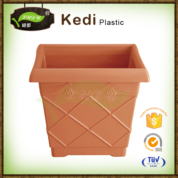 Ludu 10% discount environmental protection small clay flower pots cheap