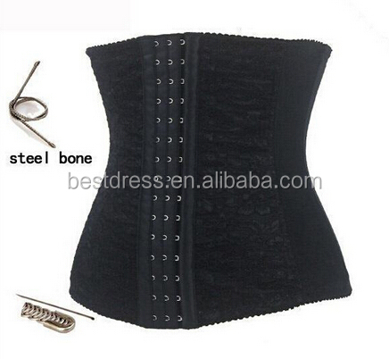 Walson cheap 24 steel boned corset