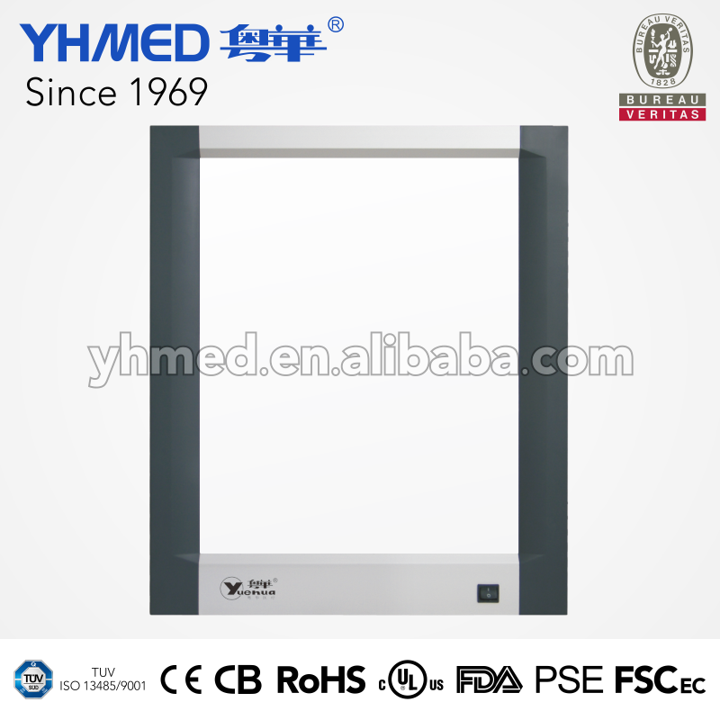 High finish degree stability uniformity soft light thinnest led x-ray viewer