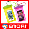 2016 Top quality colorful personalized PVC waterproof phone pouch