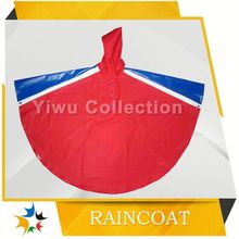 plastic raincoat fashion,raincoat for biker
