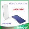 2014 new arrival hot sell item large capacity mobile power bank super slim body