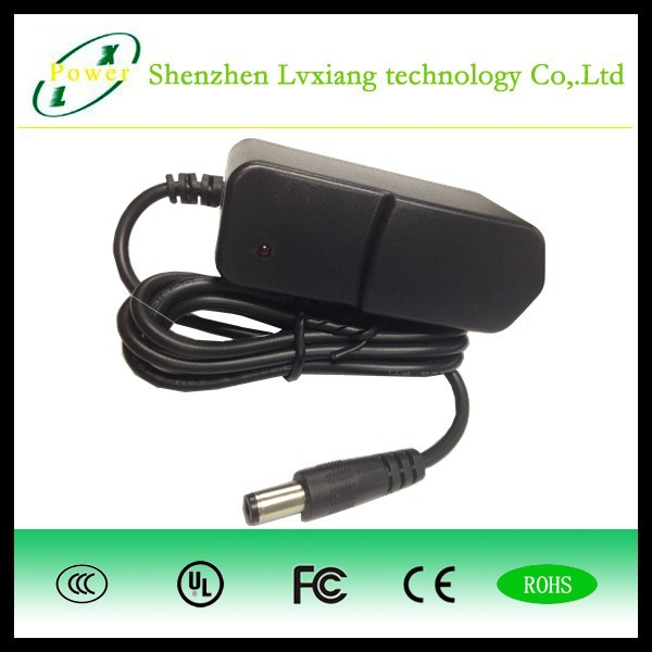 Constant Voltage 12V 1A Wall Mounted LED Power Adaptor