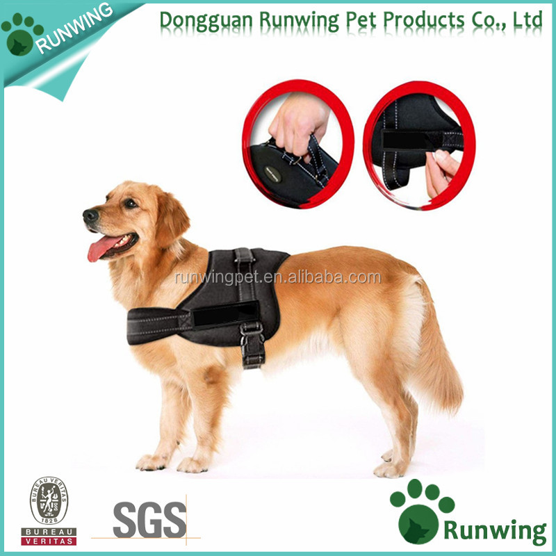 No Pull Dog Vest Harness - Dog Body Padded Vest - Comfort Control for Large Dogs in Training Walking