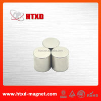 High gauss neodymium permanent strong cylindrical magnet