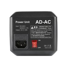 Godox AD-AC AD600B AD600BM AD600M AD600 Power Unit Source Adapter with Cable