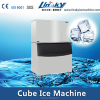 Export to Europe 1500lbs/24hr ice cube making machine maker