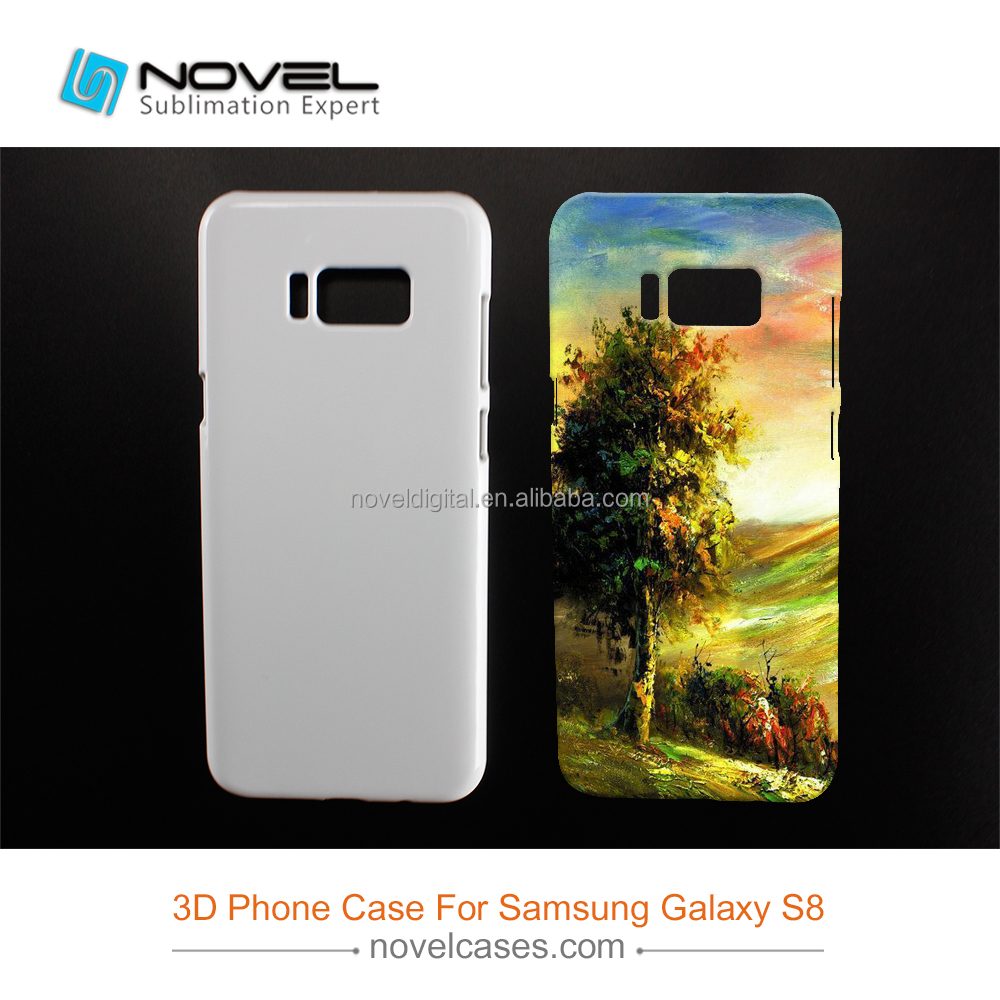 Diy Sublimation 3D Blank Cell Phone Case for Samsung S8