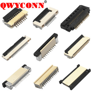 0.3/ 0.5/ 0.8/ 1.0/ 1.25mm Pitch SMT ZIF DIP Type FPC connector