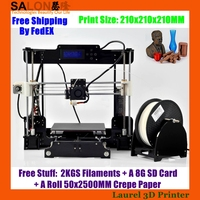 Reprap Prusa i3 3D Printer Machine High Precision Desktop DIY 3D Printer