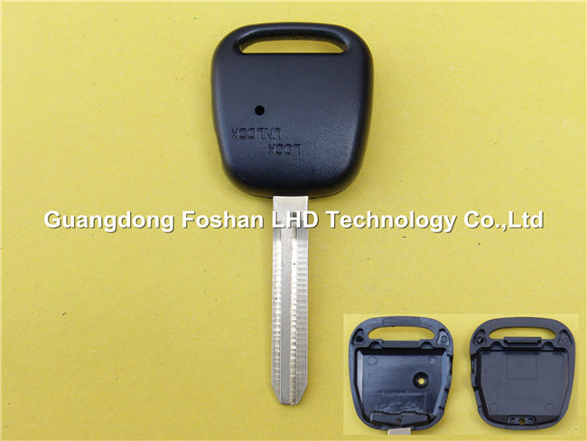 High Quality Toyota Remote key for Toyota transponder key blank fob case TOY43 blade