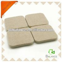 personlized anti gliding furniture skid protector/protection felt pads