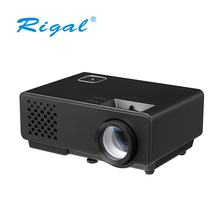 Hot Sell LCD Potable Projector for Home Theater Use support 1080P