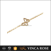 Fashion various colors of gold bracelet jewelry design for girls