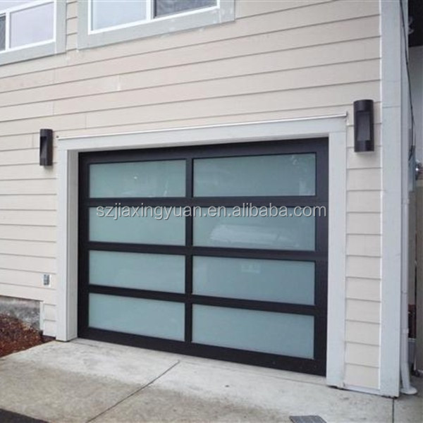 Guangdong Automatic Glass Side Hinged Garage Doors