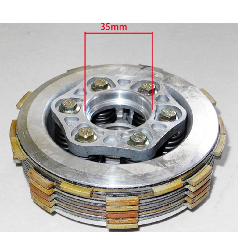 CB200 CLUTCH ASSY 2