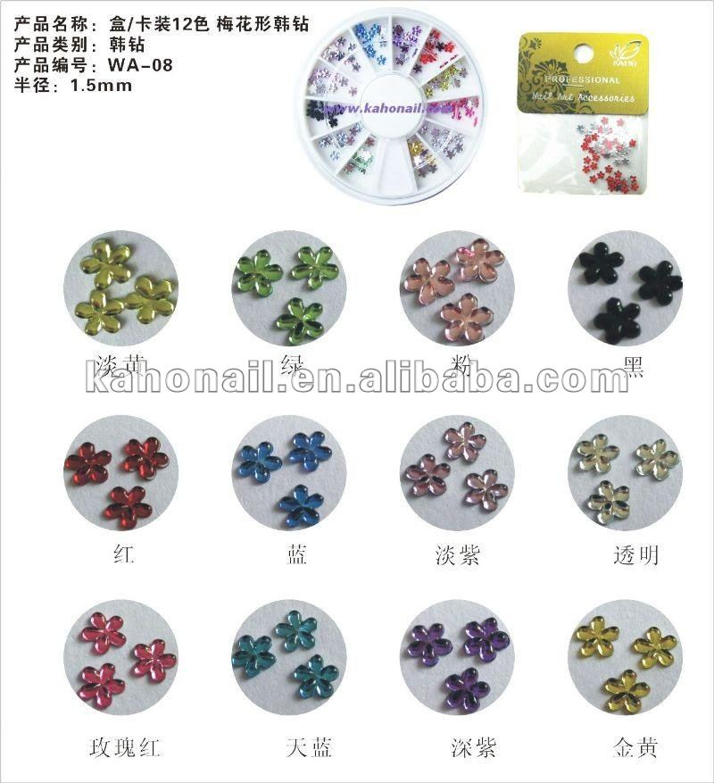 kaho art nail factory chain supermaket store,multiple shop welcome nail Sticker foil flakes leaf set for false nail