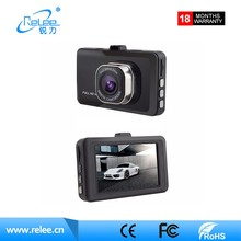 "Wholesale FULL HD 1080P black box dvr 3.0"" screen Car video recorder dash cam"
