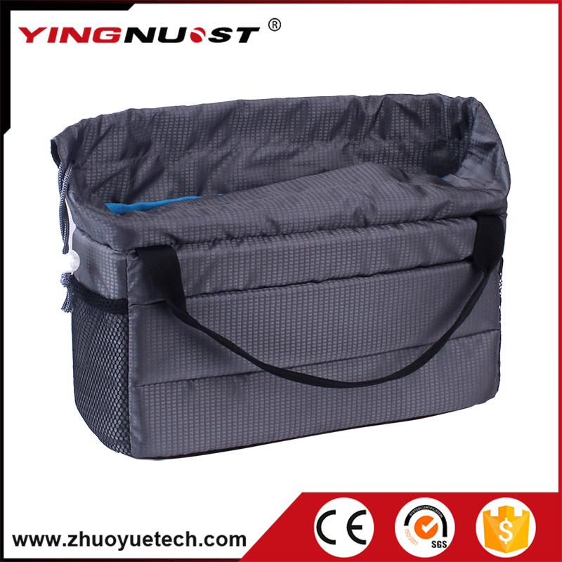 Waterproof Camera Bag Insert Storage Case Digital Photo Video Hard Inner Bag for DSLR Canon Nikon Camera