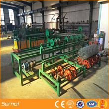 PLC Control Fully Automatic Chain Link Fence Machine Factory