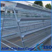 4 Tiers Layer Chicken Battery Cage with High Quality