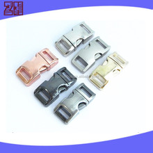 metal dog collar buckle, cheap metal curved buckles,metal strap buckle for dog collar