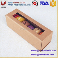divider cake box for macaron packaging