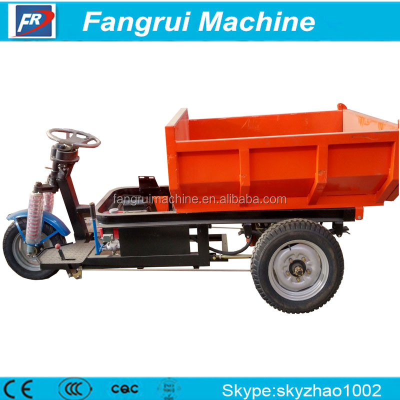 Advanced Technique automatic tricycle for cargo dust cart three wheel electric