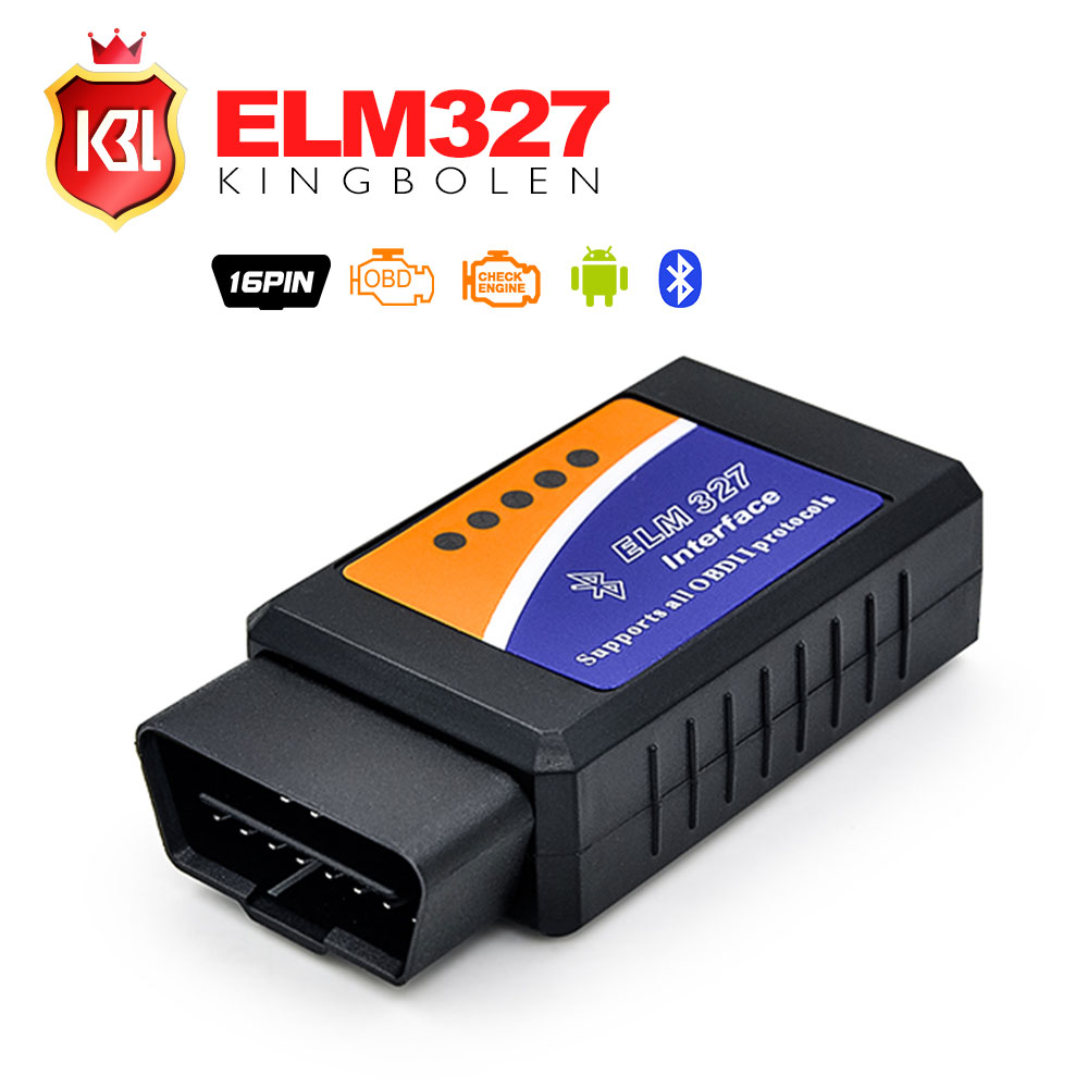2018 Date ELM327 Bluetooth V2.1 Interface Fonctionne Sur Android Couple Elm 327 Bluetooth OBDII Voiture De Diagnostic Scanner
