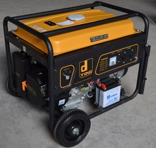 three phase 380V electric start 5kva honda generator prices